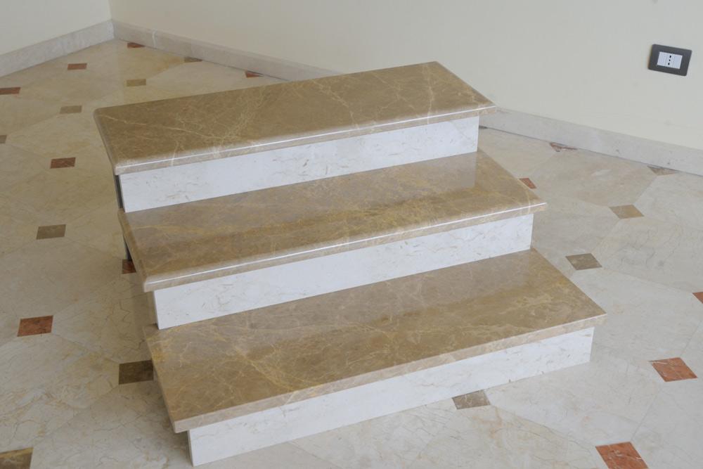 Scale di marmo simple scala in marmo tigrato with scale - Scale di marmo ...
